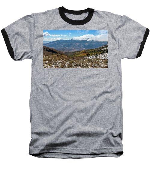 Vibrance Of The Storm Idaho Landscape Art By Kaylyn Franks Baseball T-Shirt