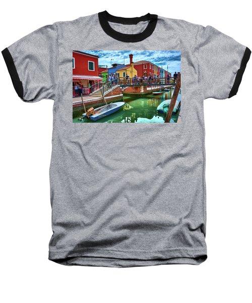 Vibrant Dreams Floating In The Air Baseball T-Shirt