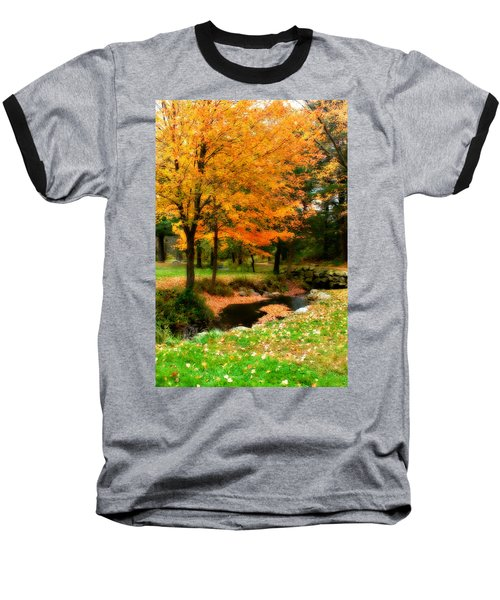 Vibrant October Baseball T-Shirt