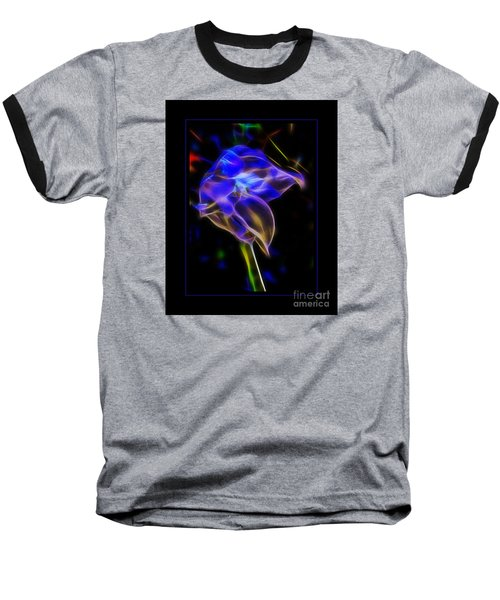Baseball T-Shirt featuring the photograph Vibrant Orchid by Darleen Stry