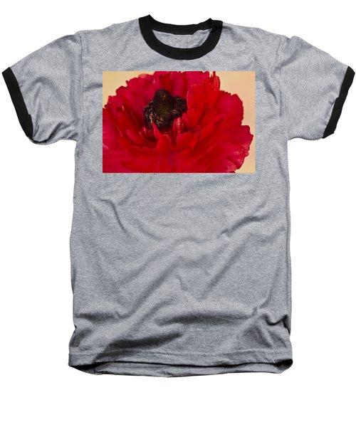 Vibrant Petals Baseball T-Shirt