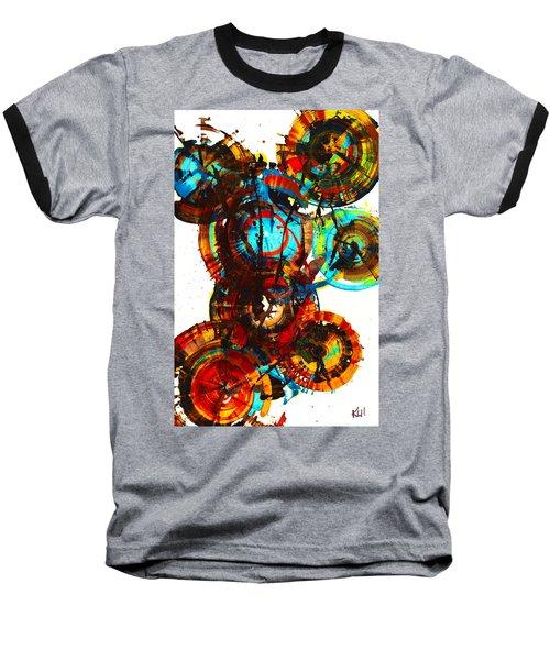 Vibrant Sphere Series 995.042312vsx2 Baseball T-Shirt by Kris Haas
