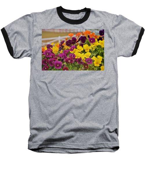 Vibrant Violas Baseball T-Shirt