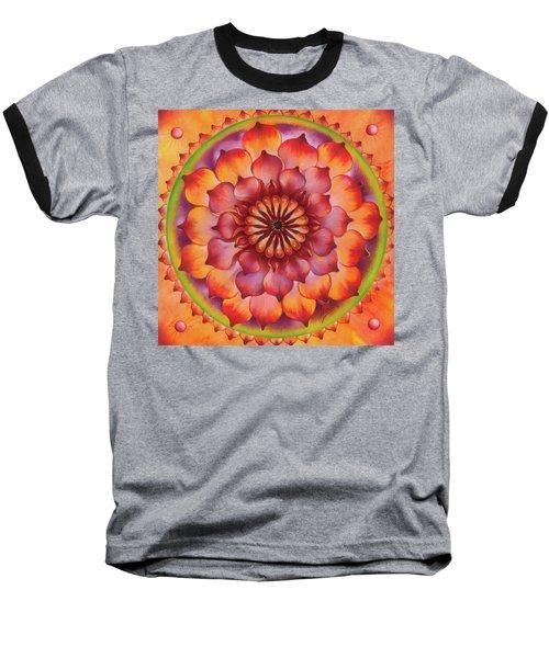 Vibration Of Joy And Life Baseball T-Shirt by Anna Ewa Miarczynska