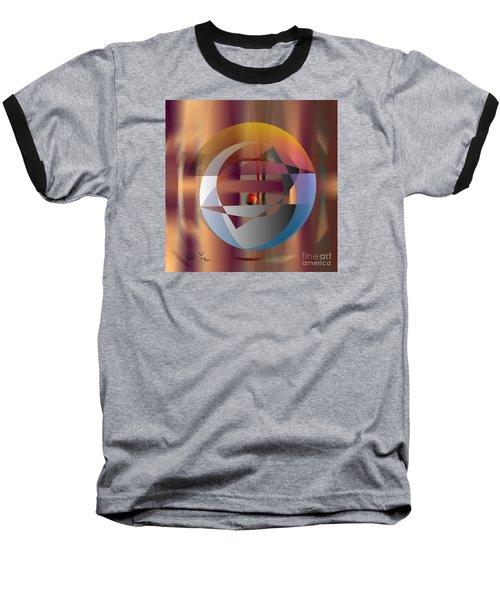 Baseball T-Shirt featuring the digital art Vicious Circle by Leo Symon
