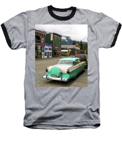 Vicky In Skagway Baseball T-Shirt