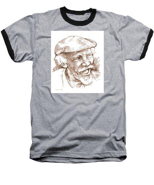 Victor Boa Baseball T-Shirt by Greg Joens