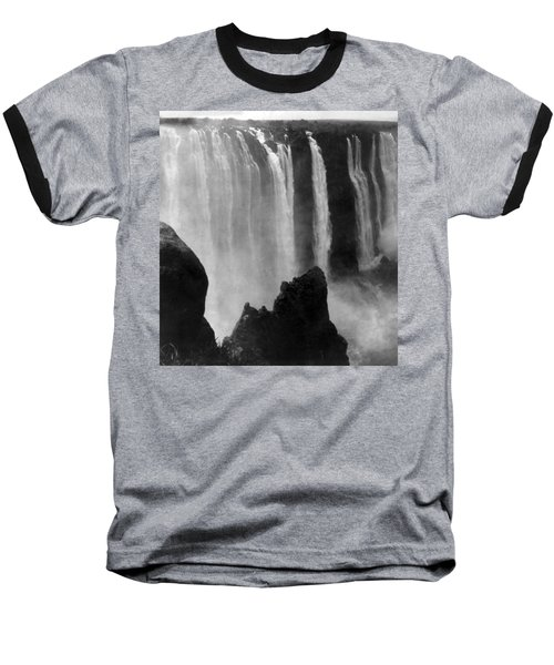 Victoria Falls - C 1911 Baseball T-Shirt by International  Images