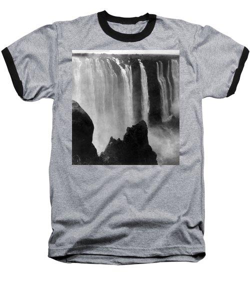 Victoria Falls - C 1911 Baseball T-Shirt by International  Images