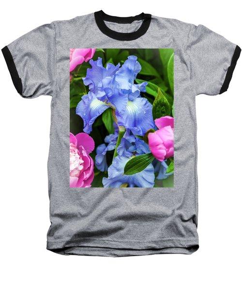 Victoria Falls Iris Baseball T-Shirt