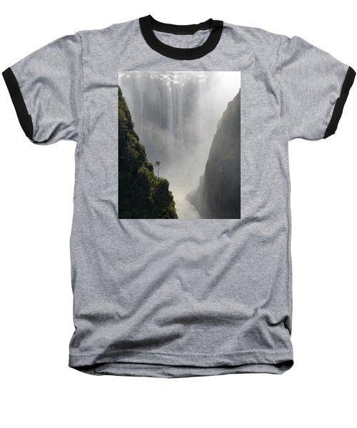 Victoria Falls No. 2 Baseball T-Shirt by Joe Bonita