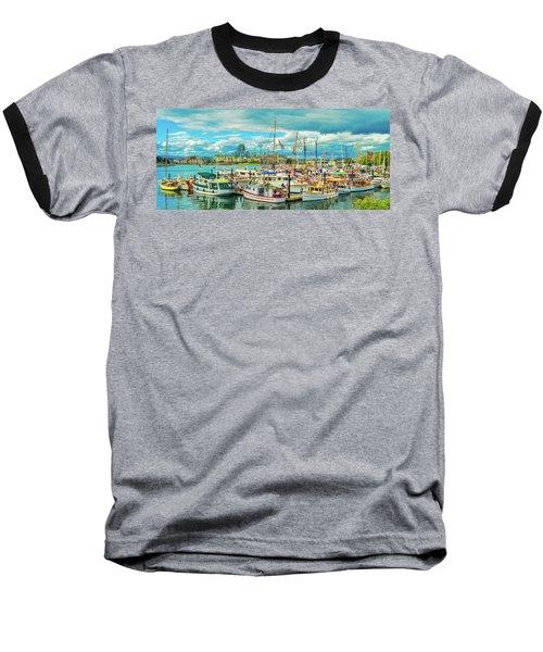 Victoria Harbor 2 Baseball T-Shirt