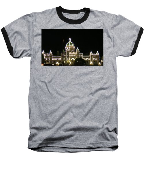 Victoria Legislative Buildings Baseball T-Shirt