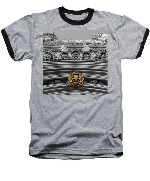 Victoria Tower Low Angle London Baseball T-Shirt