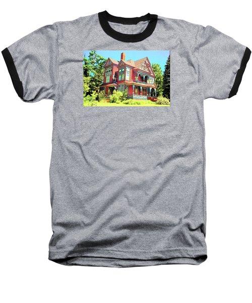 Victorian Baseball T-Shirt by John Schneider