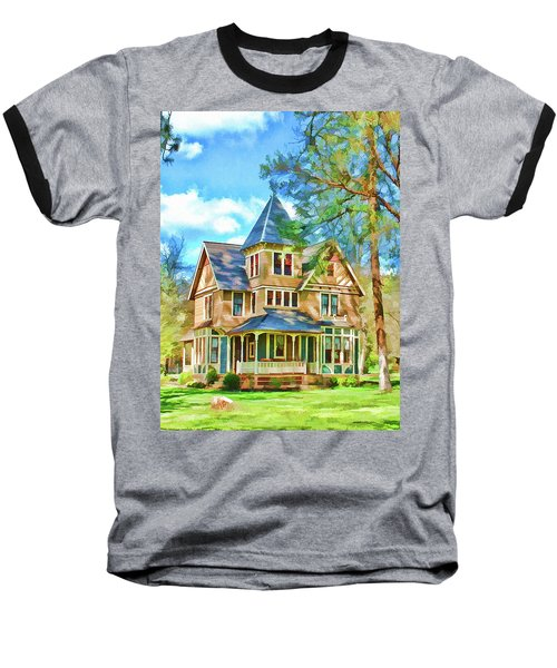Victorian Painting Baseball T-Shirt by Wendy McKennon