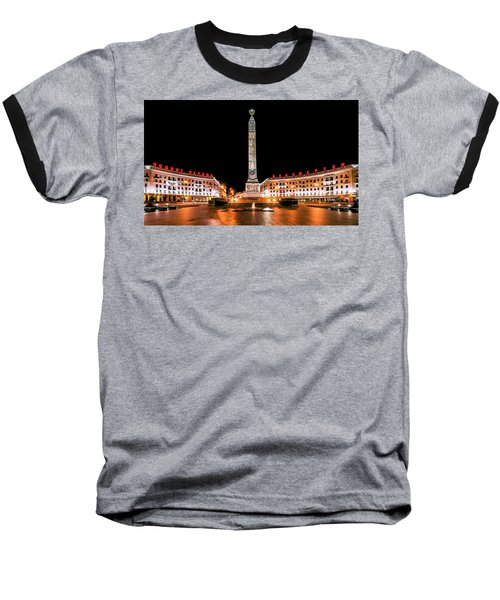 victory Square Baseball T-Shirt