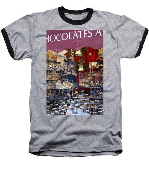 Vienna Chocolatier Shop Baseball T-Shirt