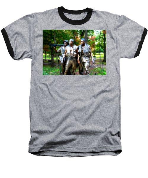 Viet Nam Memorial Baseball T-Shirt