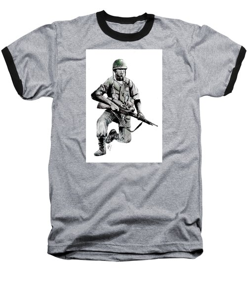 Vietnam Infantry Man Baseball T-Shirt