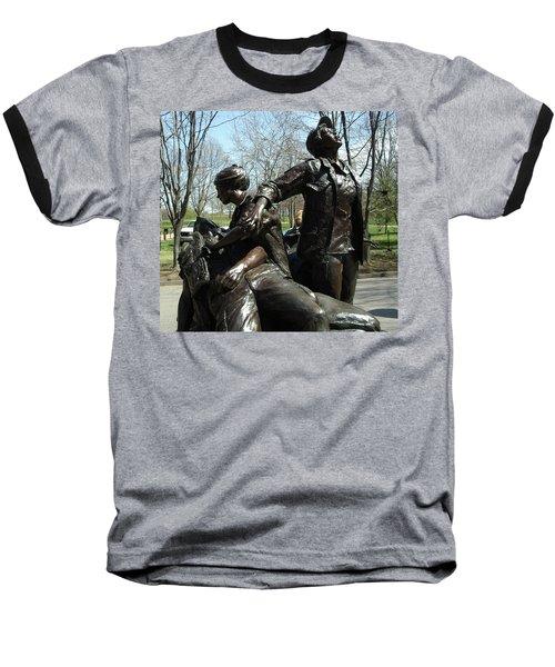 Vietnam Women's Memorial Baseball T-Shirt