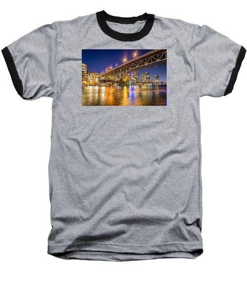 View At Granville Bridge Baseball T-Shirt by Sabine Edrissi