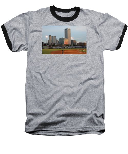 View From 3rd Base 2 Baseball T-Shirt