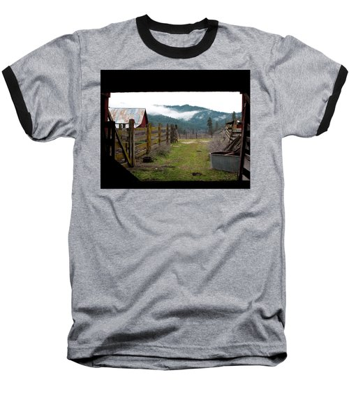 View From A Barn Baseball T-Shirt
