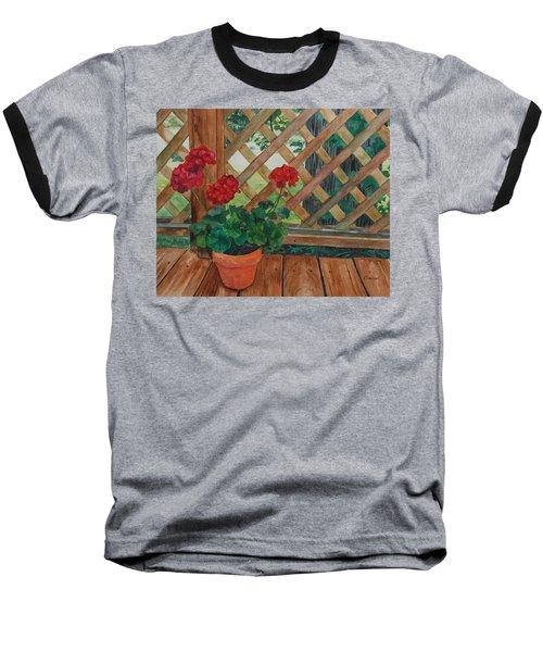View From A Deck Baseball T-Shirt