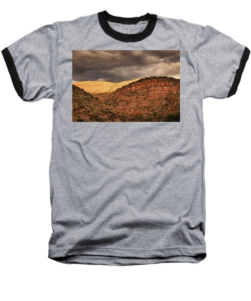 View From A Train Pnt Baseball T-Shirt