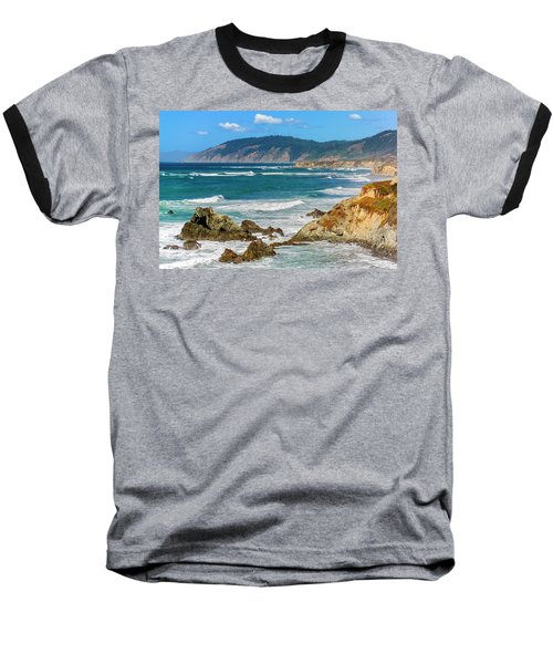 View From Abalone Point Baseball T-Shirt