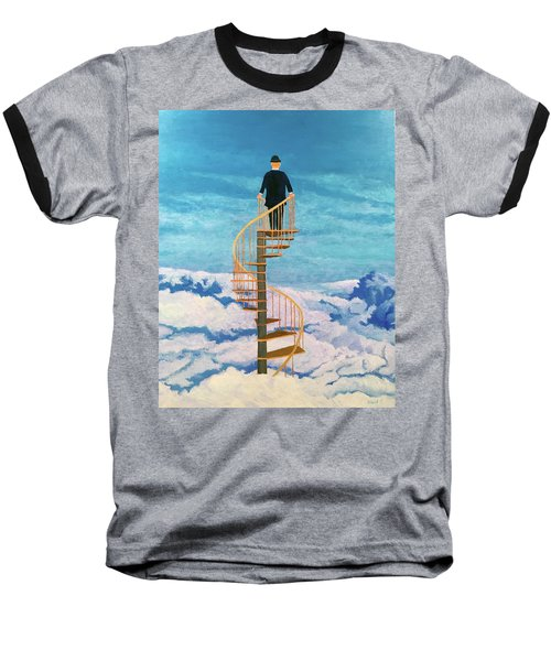 View From Above Baseball T-Shirt