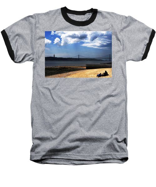 View From Across The Tagus Baseball T-Shirt