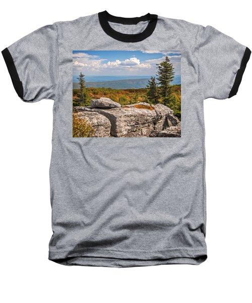 View From Bear Rocks 4173c Baseball T-Shirt