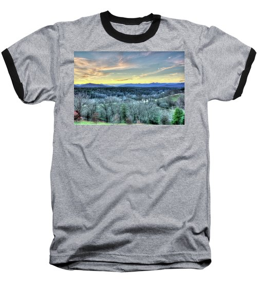 Baseball T-Shirt featuring the photograph View From Biltmore by Wade Brooks