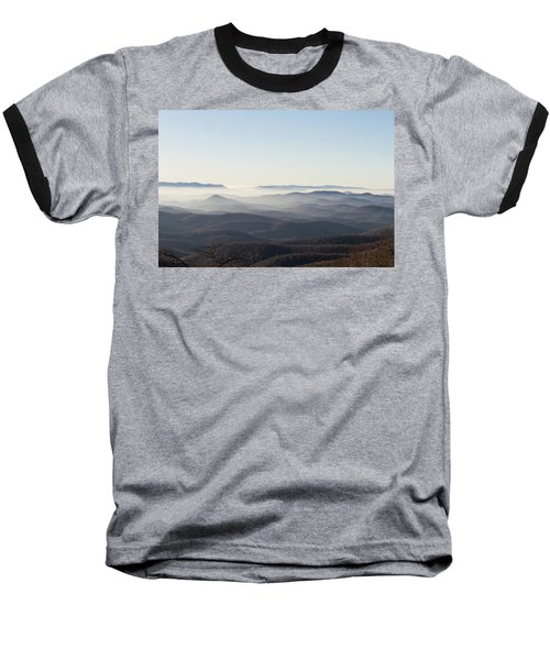 View From Blood Mountain Baseball T-Shirt