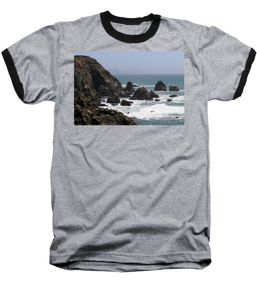 View From Bodega Head In Bodega Bay Ca - 4 Baseball T-Shirt
