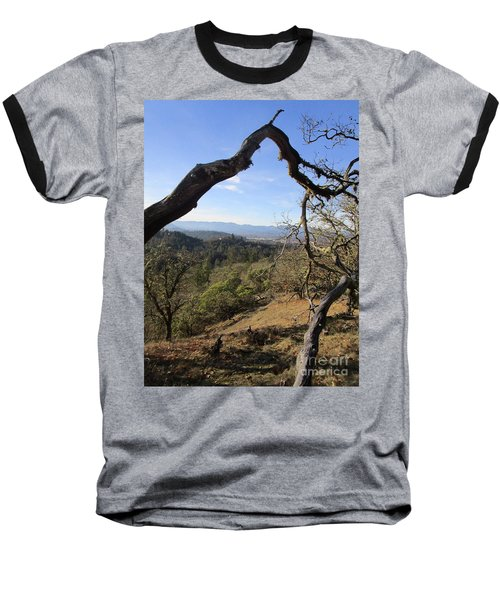 View From Cathedral Hills Baseball T-Shirt