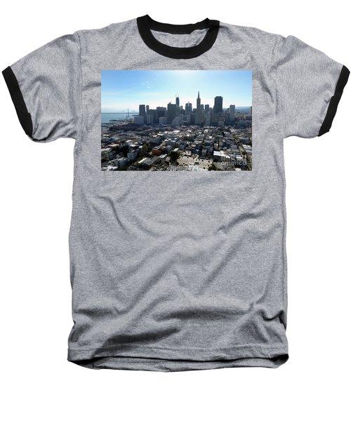 View From Coit Tower Baseball T-Shirt