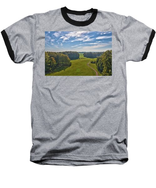 View From Lilac Mountain Baseball T-Shirt
