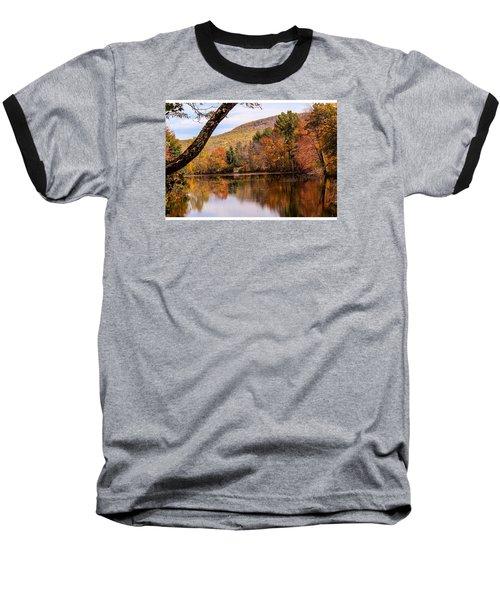 View From Manhan Rail Trail Baseball T-Shirt