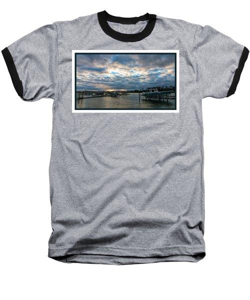 View From Marina Bay Baseball T-Shirt
