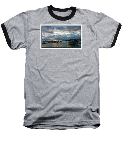 View From Marina Bay Baseball T-Shirt