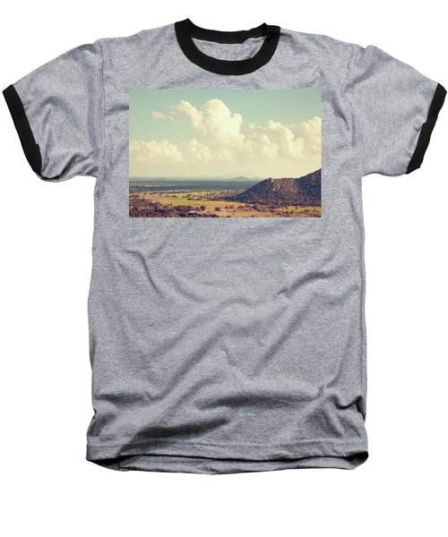 View From Mihintale Baseball T-Shirt by Joseph Westrupp
