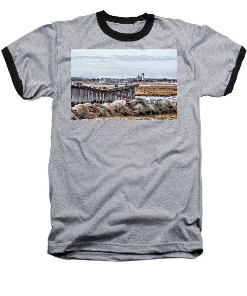 View From Mill Creek - Cold Baseball T-Shirt by Constantine Gregory