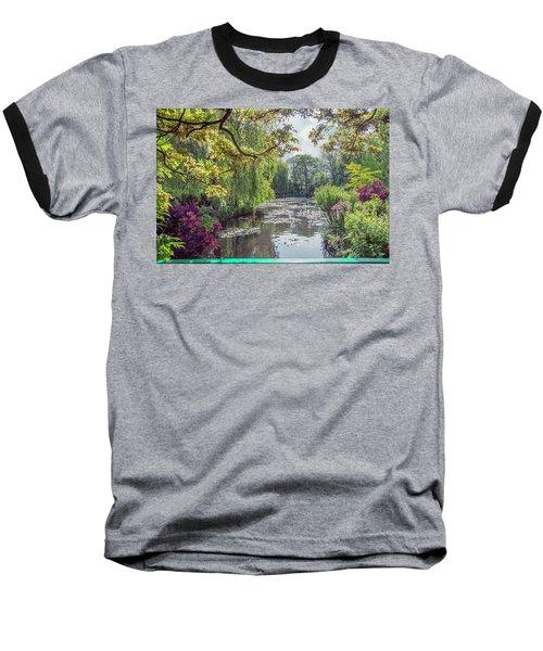 View From Monet's Bridge Baseball T-Shirt