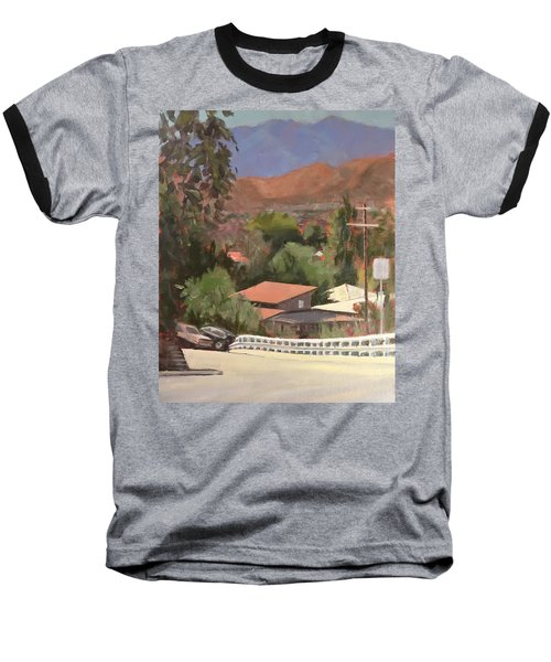 View From Moon Baseball T-Shirt by Richard Willson