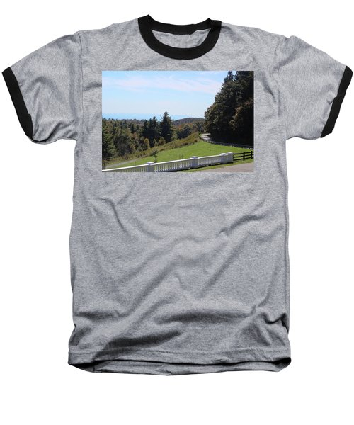 View From Moses Cone 2014a Baseball T-Shirt
