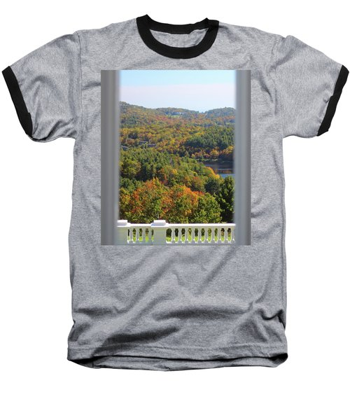 View From Moses Cone 2014b Baseball T-Shirt