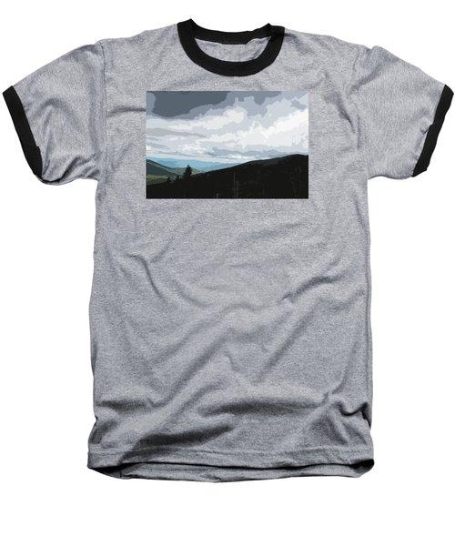 View From Mount Washington II Baseball T-Shirt